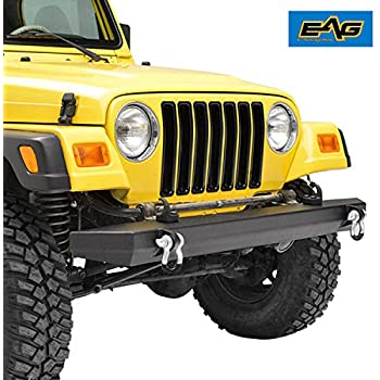 af4b79697f4c0 Amazon.com: Crown Automotive 5ED18T3XK Rear Bumper Kit for Jeep ...
