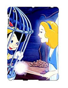 Ipad 2/3/4 SJBdxhN3457wCrID Pinocchio And The Blue Fairy Tpu Silicone Gel Case Cover For Lovers