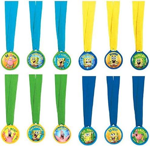 Amazon.com: Fiesta de cumpleaños Mini premio medalla ...