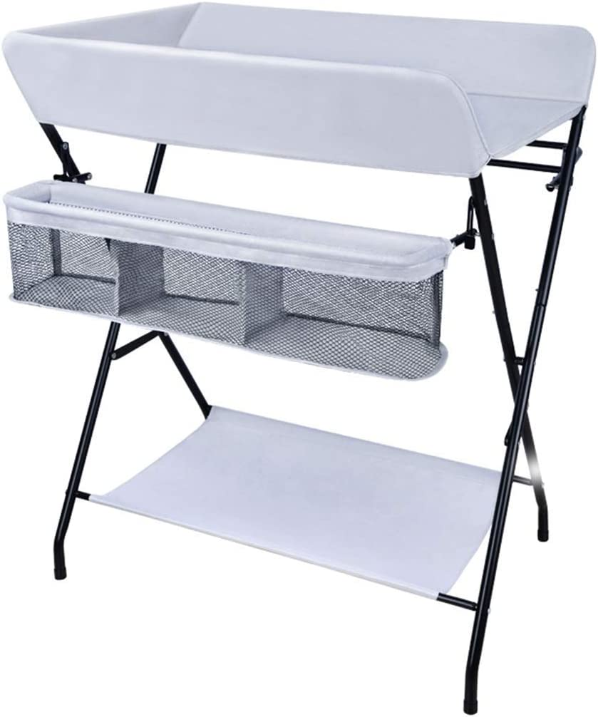 - Amazon.com: Folding Baby Changing Table For Small Spaces, Portable