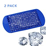 LuimiHot Ice Cube Tray 2 Pack, 160 Silicone Ice Cubes Mold, Perfect for ...