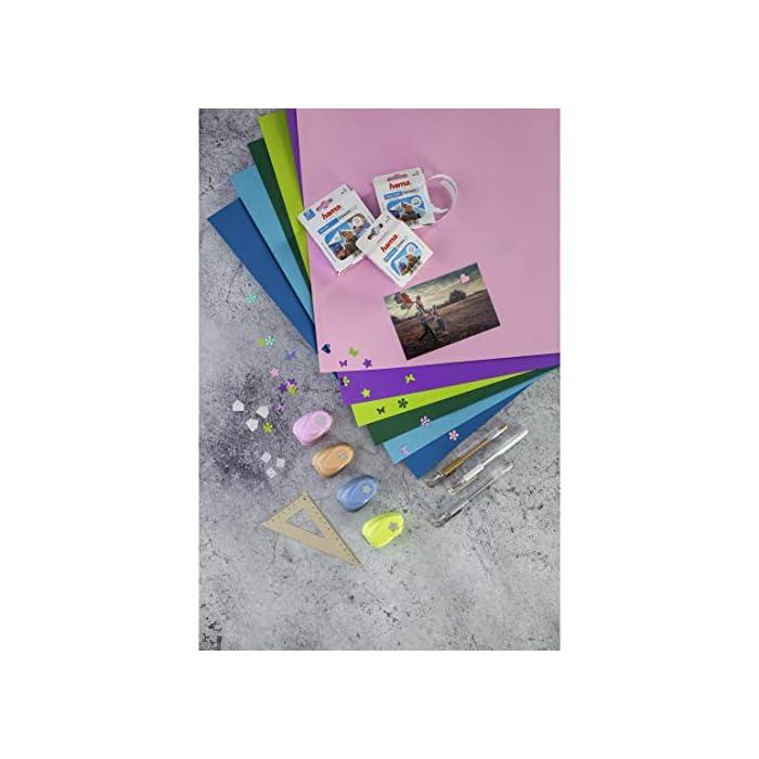 51 1F Haz clic aquí para comprobar si este producto es compatible con tu modelo 1000 adhesivos para pegar fotos o postales en álbumes: fijación invisible por la parte de atrás Para todo tipo de papel fotográfico: autoadhesivos por las dos caras, no hacen ondas en las páginas ni aumentan el grosor del álbum