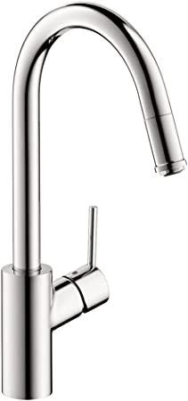 """16/"""" Pull Down with Sprayer Kitchen Faucet in Chrome"""