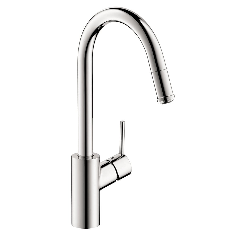 Hg Talis S Single Hole Kitchen Pull Down 1spray Touch On Parts Diagram For Gourmet Handle Faucet 150 450 Sink Faucets