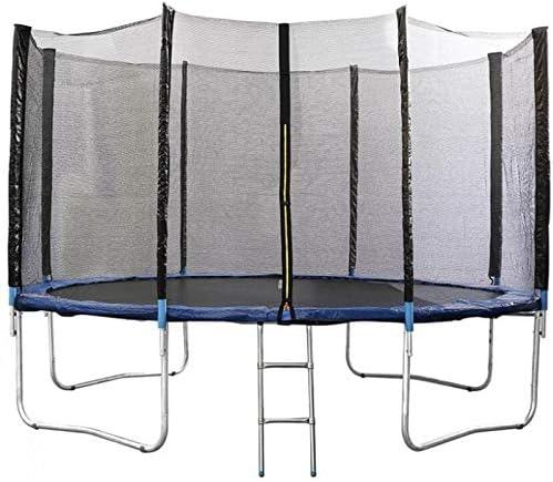 ATAA Cama elástica Infantil 400 - Azul Cama elástica Infantil Extra Grande Apto para Varios niños Ideal para Exteriores y Jardines