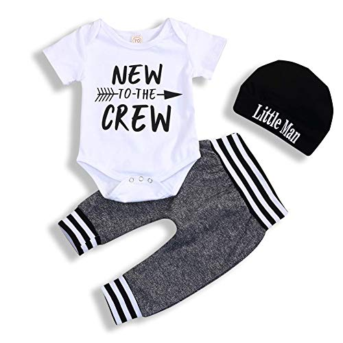 i-Auto Time Newborn Baby Boy Clothes to The Crew Print for sale  Delivered anywhere in Canada