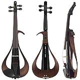 Yamaha YEV104BL Electric Violin, Black, 4 String