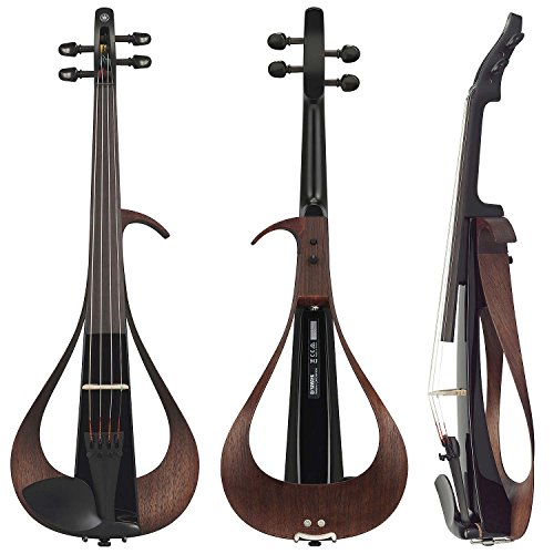Yamaha YEV104BL Electric Violin, Black, 4 String by Yamaha