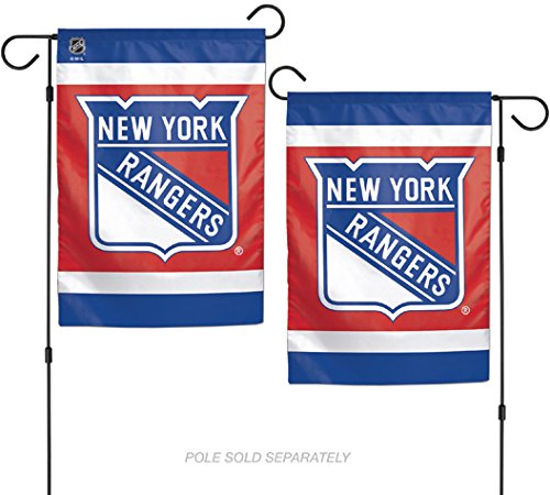 "WinCraft NHL New York Rangers 12.5"" x 18"" Inch 2-Sided Garde"