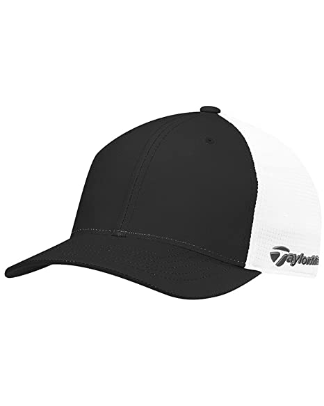 1115dcf7638 Amazon.com   adidas 2017 Taylormade Hat Climacool Flexfit Side Logo ...