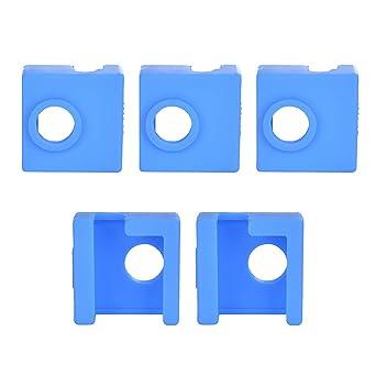 ET 5 piezas 3d impresora Heater Block cubierta de silicona Sock ...