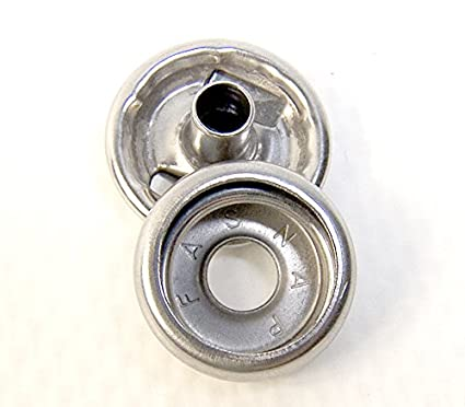 Stainless Steel Snap Fastener's, Genuine Fasnap Brand, 50 Piece, Cap &  Socket Only, Marine Grade