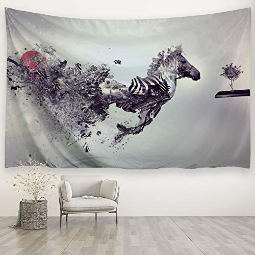 Alfalfa Wall Hanging Decor Nature Art Polyester Fabric Tapestry, for Dorm Room, Bedroom,Living Room - 90