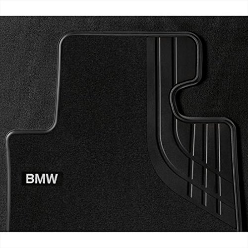 BMW Carpeted Floor mats with Heel Protect - Anthracite