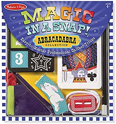 Melissa Doug Magic In A Snap Abracadabra Collection Magic Tricks Set 10 Pcs