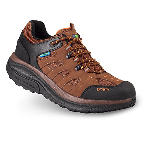 Mens G-Defy Stride Lane Clinically Proven Pain Relief Low Cut Hiking Shoes