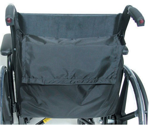 Duro-Med Wheel Chair Back Pack Black