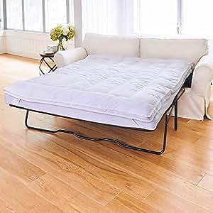 """Amazon.com: Sleeper Sofa Mattress Topper-Full (75""""L x 54""""W ..."""
