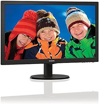"Philips V-line 223V5LHSB 21.5\"" LED LCD Monitor - 16:9-5 ms (Certified Refurbished)"