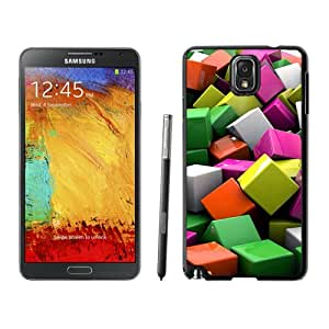 Color Cube Hard Plastic Samsung Galaxy Note 3 Protective Phone Case