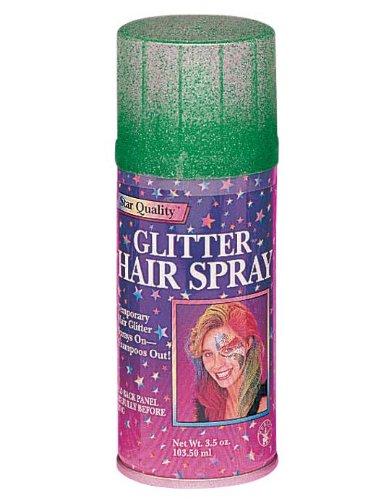 Rubies Costume Glitter Hairspray Green