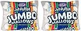 Jet-Puffed JHGXPTDL Jumbo Marshmallows, 2 Packs of 8 (24 Ounce/Bag)