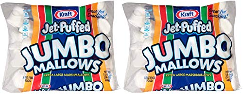 Jet-Puffed JHGXPTDL Jumbo Marshmallows, 2 Packs of 8 (24 Ounce/Bag) by Jet-Puffed (Image #3)