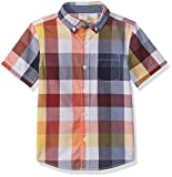 #8: Gymboree Boys' Short Sleeve Button Down Woven Shirt