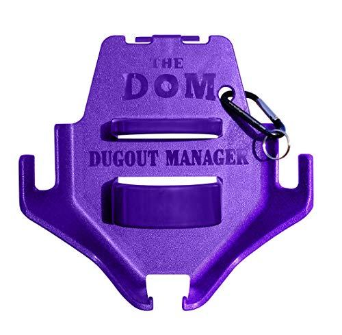 Dugout Organizer the DOM - Purple