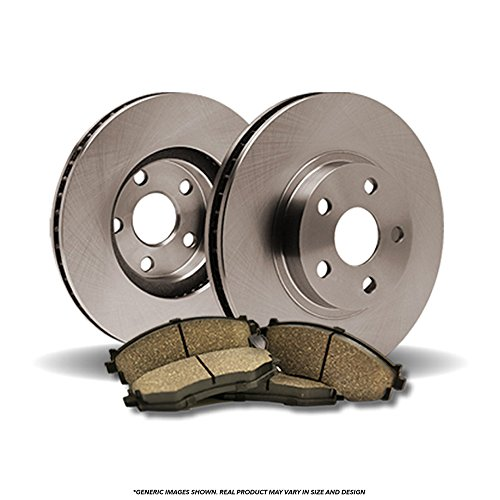 - (Front Kit)(HD SPEC)(LongLive-Series) 2 Disc Brake Rotors & 4 Ceramic Pads(Ford Mazda)-(5lug)