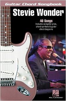 Wonder Stevie Guitar Chord Songbook Gtr Lyrics and Chords Bk (Guitar Chord Songbooks)