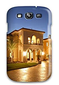 For JsJEaOy1395OHNAa Architecture Houses Protective Case Cover Skin/galaxy S3 Case Cover