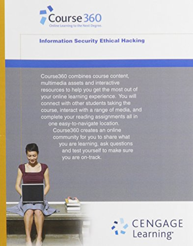 Course360 Information Security Ethical Hacking Printed Access Card