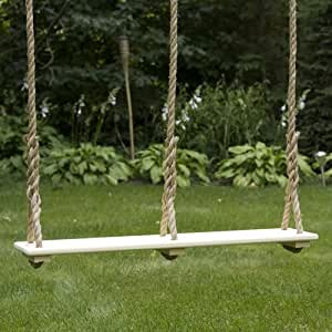 double adult tree swing 45 x 9 natural playground swing sets patio lawn. Black Bedroom Furniture Sets. Home Design Ideas