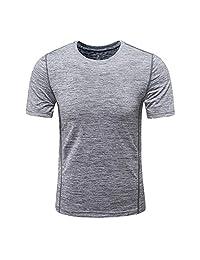 e26cf8bf MEATFLY.Men's Solid Rashguard UPF 50+ Swim Shirts