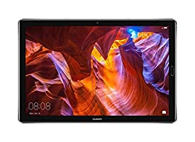 """Huawei MediaPad M5 Android Tablet with 10.8"""" 2.5D Display, Octa Core, Quick Charge, Quad Harman Kardon-Tuned Speakers, WiFi Only, 4GB+64GB, Space Gray (US Warranty)"""