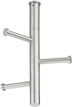 Moderne Design Unterbau Garderobe Flur   Bad   Paneel Garderobenhaken  Drehbar Kleiderhaken Edelstahl Mit 3
