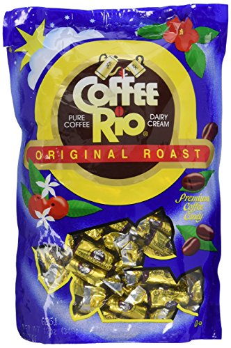 Coffee Rio Original Roast Gourmet Candy, 12oz Bag
