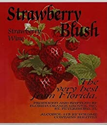 Strawberry Blush - Strawberry Fruit Wine