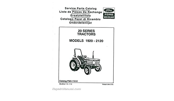 35 Ford 2120 Tractor Parts Diagram