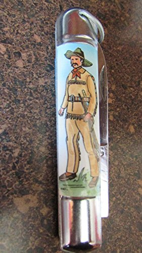 Collector American Cowboy Pocket Knife Germany ()