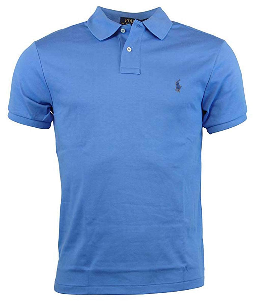 81211228d429b1 Polo Ralph Lauren Mens Custom Fit Interlock Polo Shirt at Amazon Men's  Clothing store:
