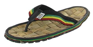 Flip Flop Sandals Reggae Jamaica Rasta