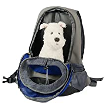Toparchery Pet Carrier Backpack, Adjustable Front Chest Cat Dog Bag,Perfect for Small Dogs Traveling Hiking Camping