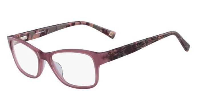 Eyeglasses MARCHON M-MAREA 604 BURGUNDY at Amazon Men\'s Clothing store: