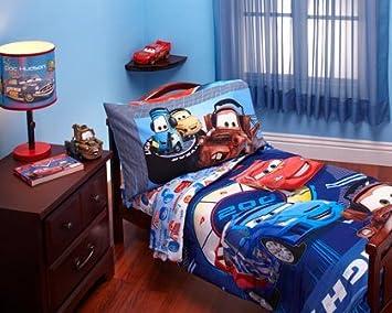 Exceptionnel Disney   Cars Max Rev 4 Piece Toddler Bed Bedding Set