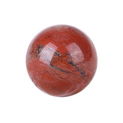 Homelectric Inc Bolas de 20 mm con Forma de Bola Natural, Cuentas de Jade,