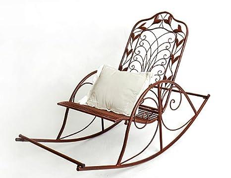 Sedie In Ferro Battuto Da Giardino.Dandibo Ambiente Nuova Sedia Da Giardino Sedia A Dondolo Relax Sedia