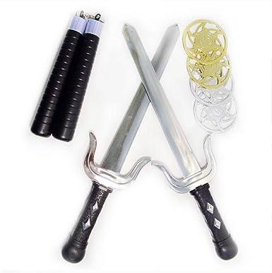 Amazon.com: Ninja - Kit de accesorios para disfraz de armas ...