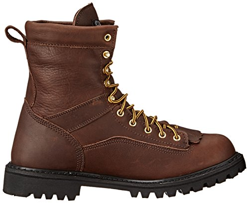 Georgia Men's G8041 Logger M Work Boot, Tumbled Chocolate, 14 W US by Georgia (Image #7)